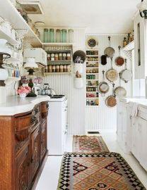 Creative kitchen cabinets makeover ideas 23