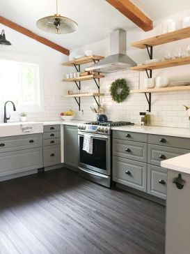 Creative kitchen cabinets makeover ideas 28