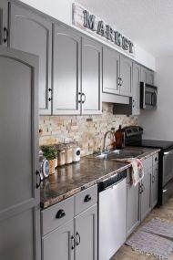 Creative kitchen cabinets makeover ideas 32