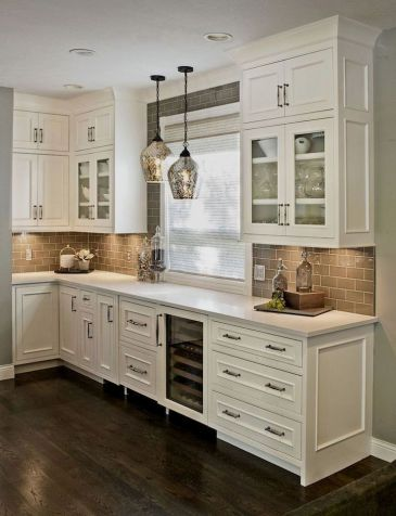 Creative kitchen cabinets makeover ideas 37