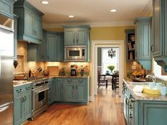 Creative kitchen cabinets makeover ideas 38