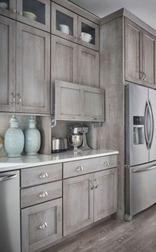 Creative kitchen cabinets makeover ideas 46