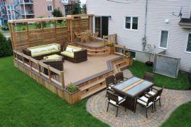 Fabulous porch design ideas for backyard 31