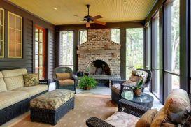 Fabulous porch design ideas for backyard 38