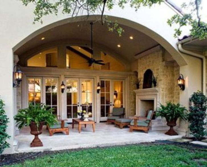Fabulous porch design ideas for backyard 49