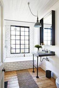 Fabulous small farmhouse bathroom design ideas 05