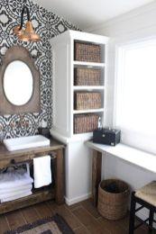 Fabulous small farmhouse bathroom design ideas 32