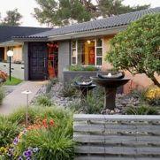 Great front yard rock garden ideas 22