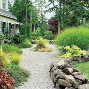Great front yard rock garden ideas 32