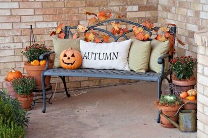 Modern diy autumn decorations to fall for this season 37