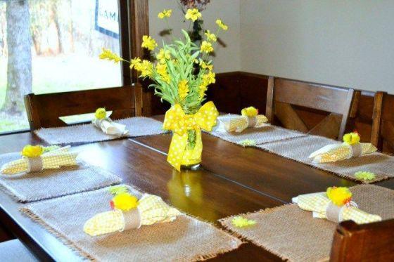 Modern spring dining room decoration ideas 12