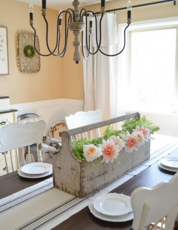 Modern spring dining room decoration ideas 13