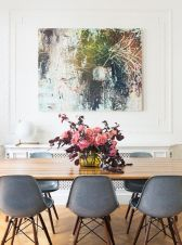 Modern spring dining room decoration ideas 15