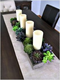 Modern spring dining room decoration ideas 20