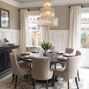 Modern spring dining room decoration ideas 25