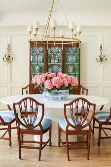 Modern spring dining room decoration ideas 34