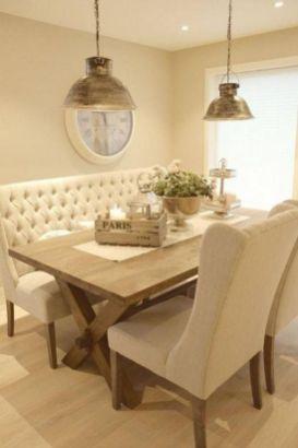 Modern spring dining room decoration ideas 44