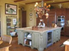 Popular modern french country kitchen design ideas 09