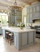 Popular modern french country kitchen design ideas 11