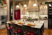 Popular modern french country kitchen design ideas 31