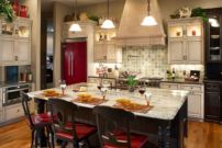 Popular modern french country kitchen design ideas 31