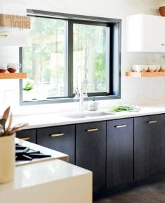 Popular modern french country kitchen design ideas 40