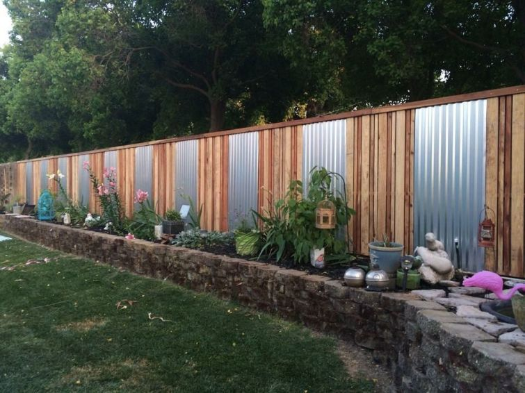 Popular privacy fence ideas 37
