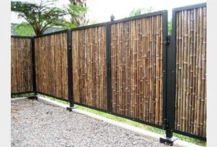 Popular privacy fence ideas 43
