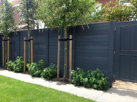 Popular privacy fence ideas 45