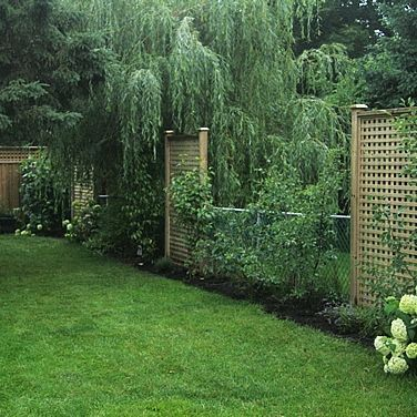 Popular privacy fence ideas 48