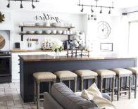 Stunning farmhouse kitchen cabinet ideas 01