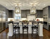 Stunning farmhouse kitchen cabinet ideas 11