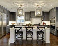 Stunning farmhouse kitchen cabinet ideas 11