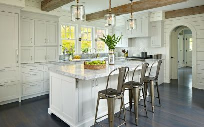 Stunning farmhouse kitchen cabinet ideas 17