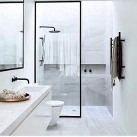 Stunning scandinavian bathroom design ideas 44