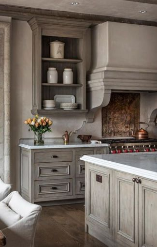Stylish modern farmhouse kitchen makeover decor ideas 07
