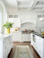 Stylish modern farmhouse kitchen makeover decor ideas 09