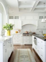 Stylish modern farmhouse kitchen makeover decor ideas 09