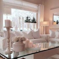 Ultimate romantic living room decor ideas 27