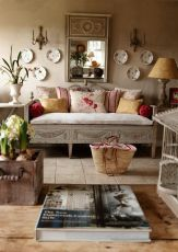 Ultimate romantic living room decor ideas 39