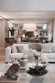 Ultimate romantic living room decor ideas 42