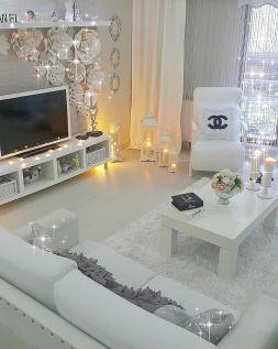 Ultimate romantic living room decor ideas 43