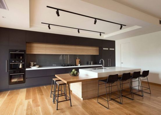 Unique modern contemporary kitchen ideas 15