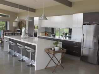Unique modern contemporary kitchen ideas 23
