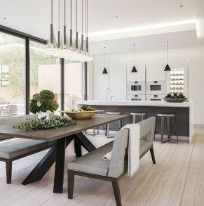 Unique modern contemporary kitchen ideas 26