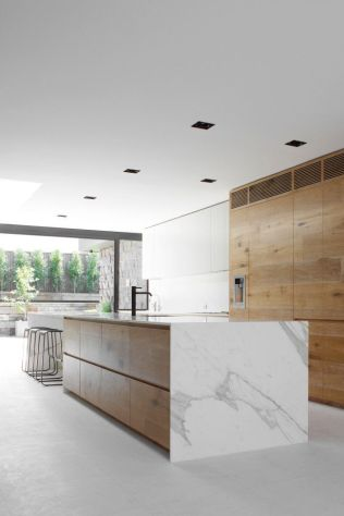 Unique modern contemporary kitchen ideas 42