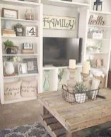 Adorable apartment living room decorating ideas 04