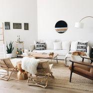 Adorable apartment living room decorating ideas 11