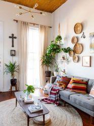 Adorable apartment living room decorating ideas 12