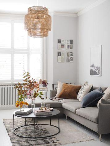 Adorable apartment living room decorating ideas 16
